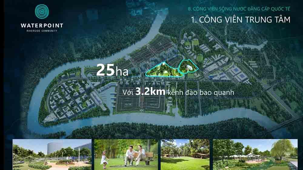 Công viên trung tâm 25ha