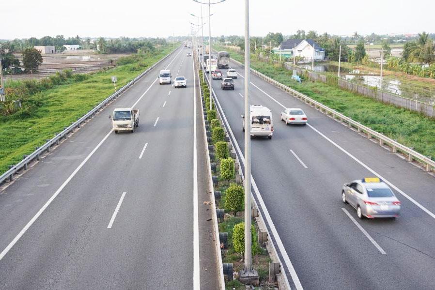 Đường cao tốc TP HCM - Trung Lương kết nối Đường tỉnh 830 - Cảng Quốc tế Long An Ảnh Báo Long An Online
